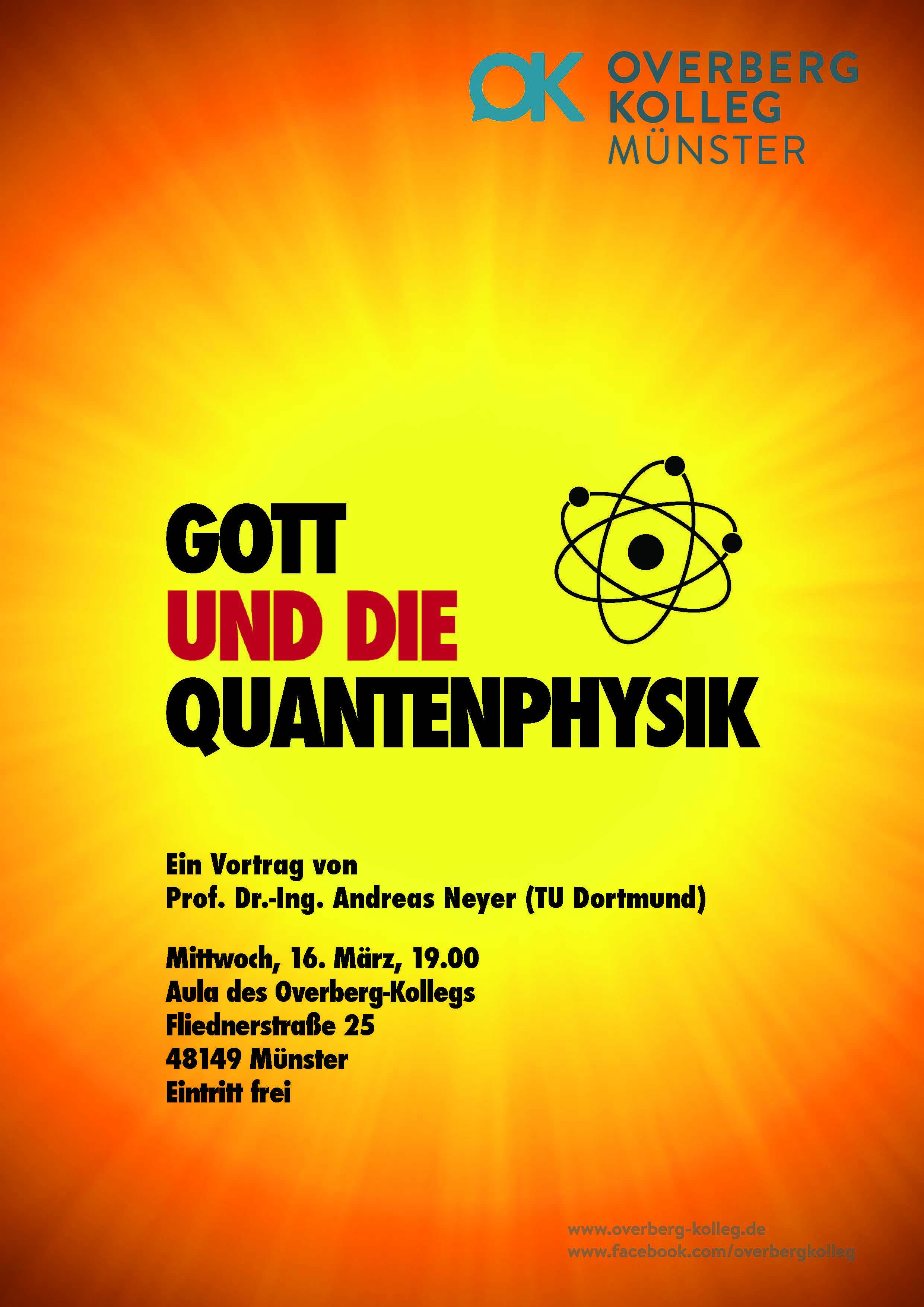 Quantenphysik Flyer